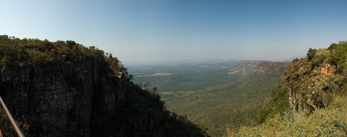Panorama am Gods window in Südafrika